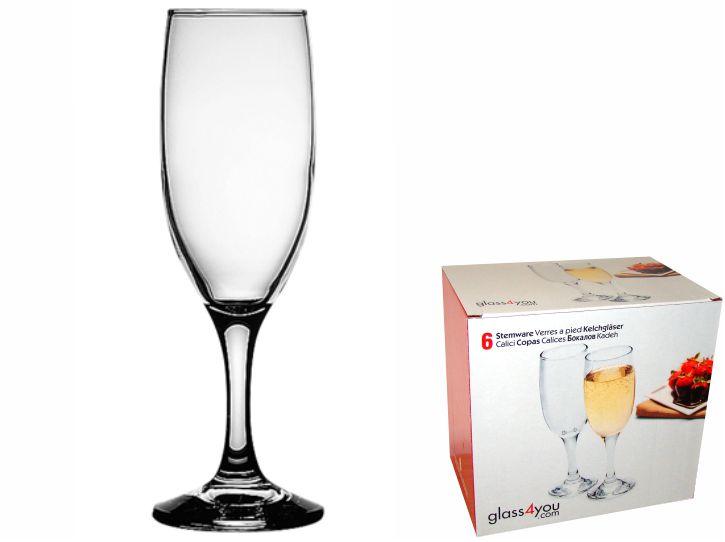 Glass4you čaša za vino 19 cl,  6/1