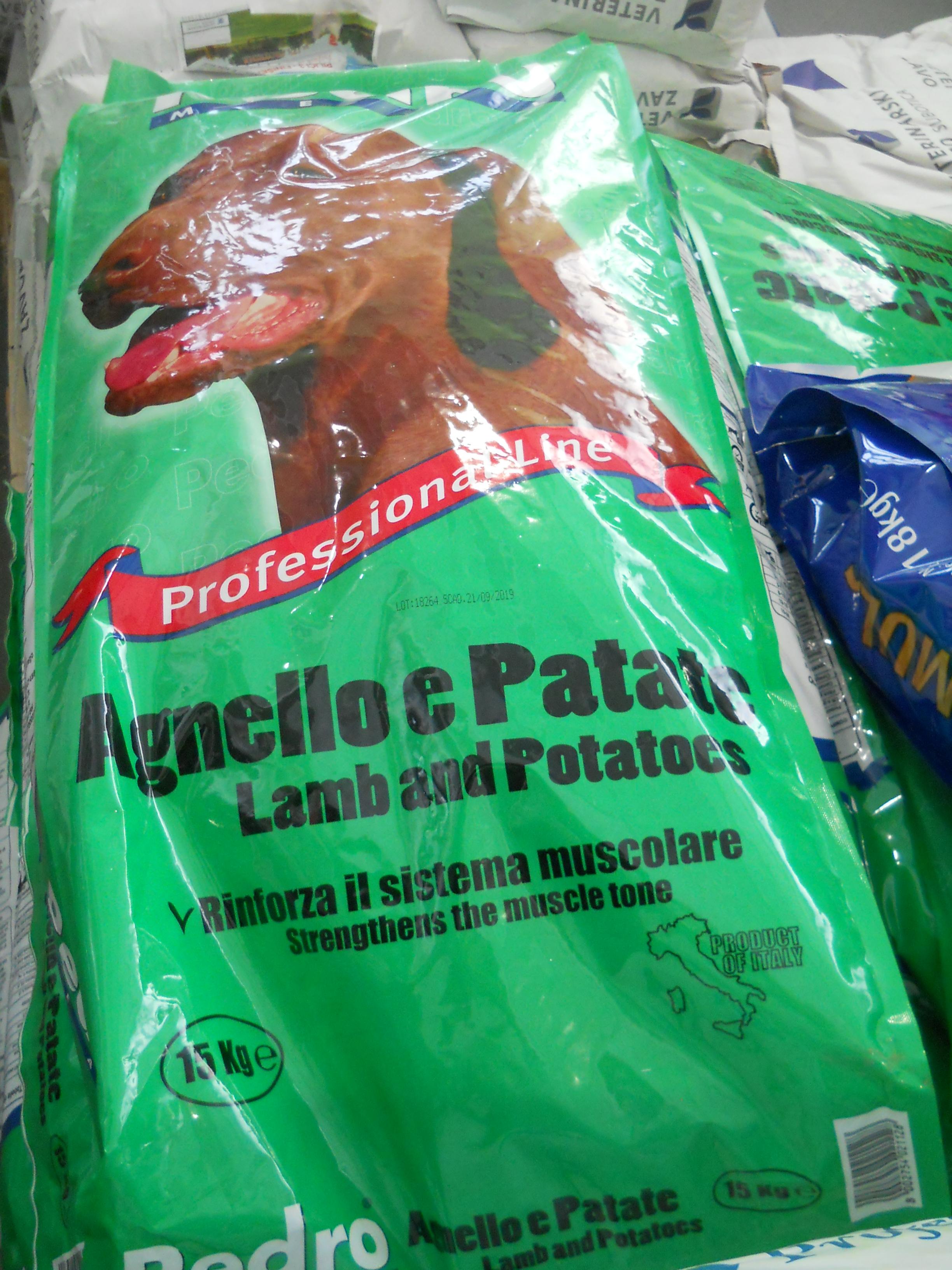 Pedro 15kg jagnje