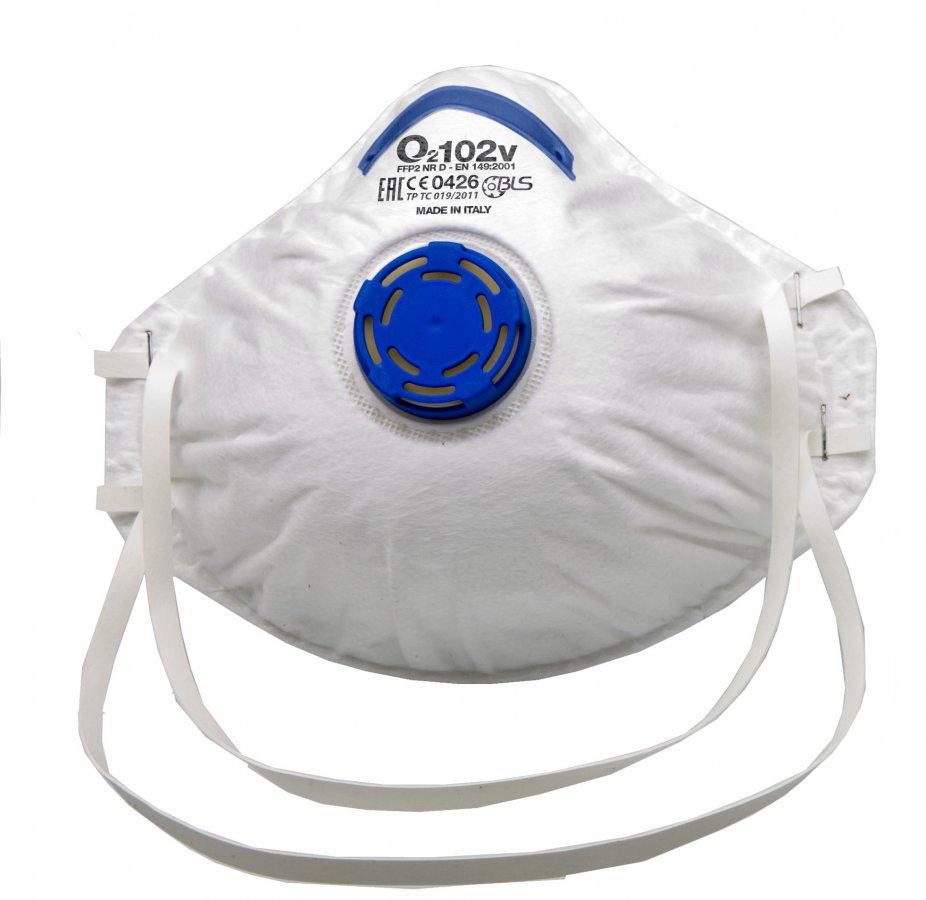Respirator maska O2 FFP2 sa ventilom