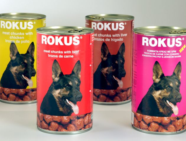 Rokus Dog Food Jagnjetina 1250g
