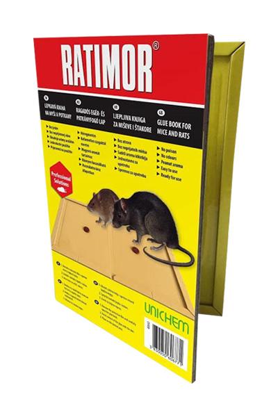 Ratimor lepljiva knjiga-karton za miševe