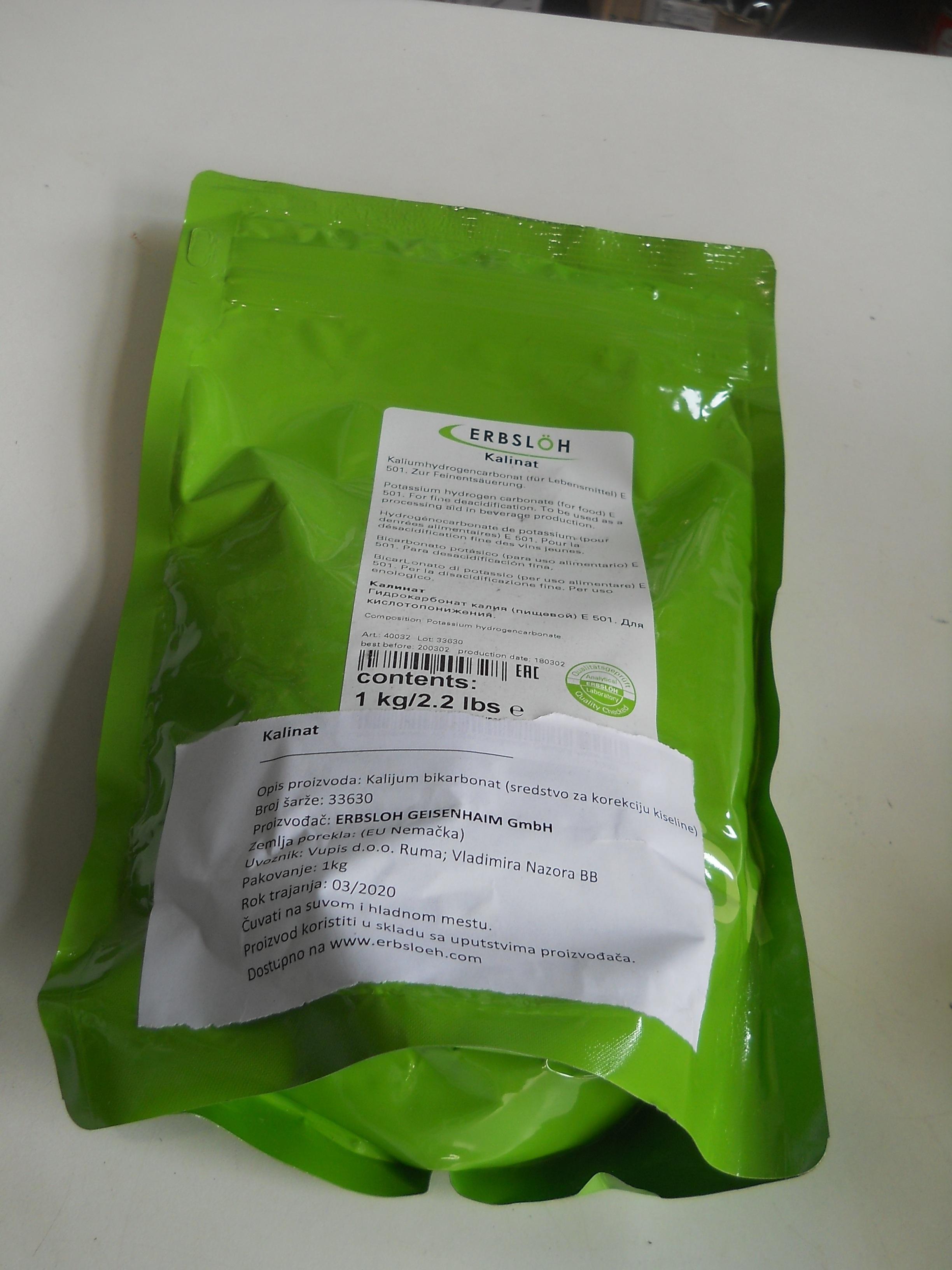 Kalinat 1kg kalijum bikarbonat