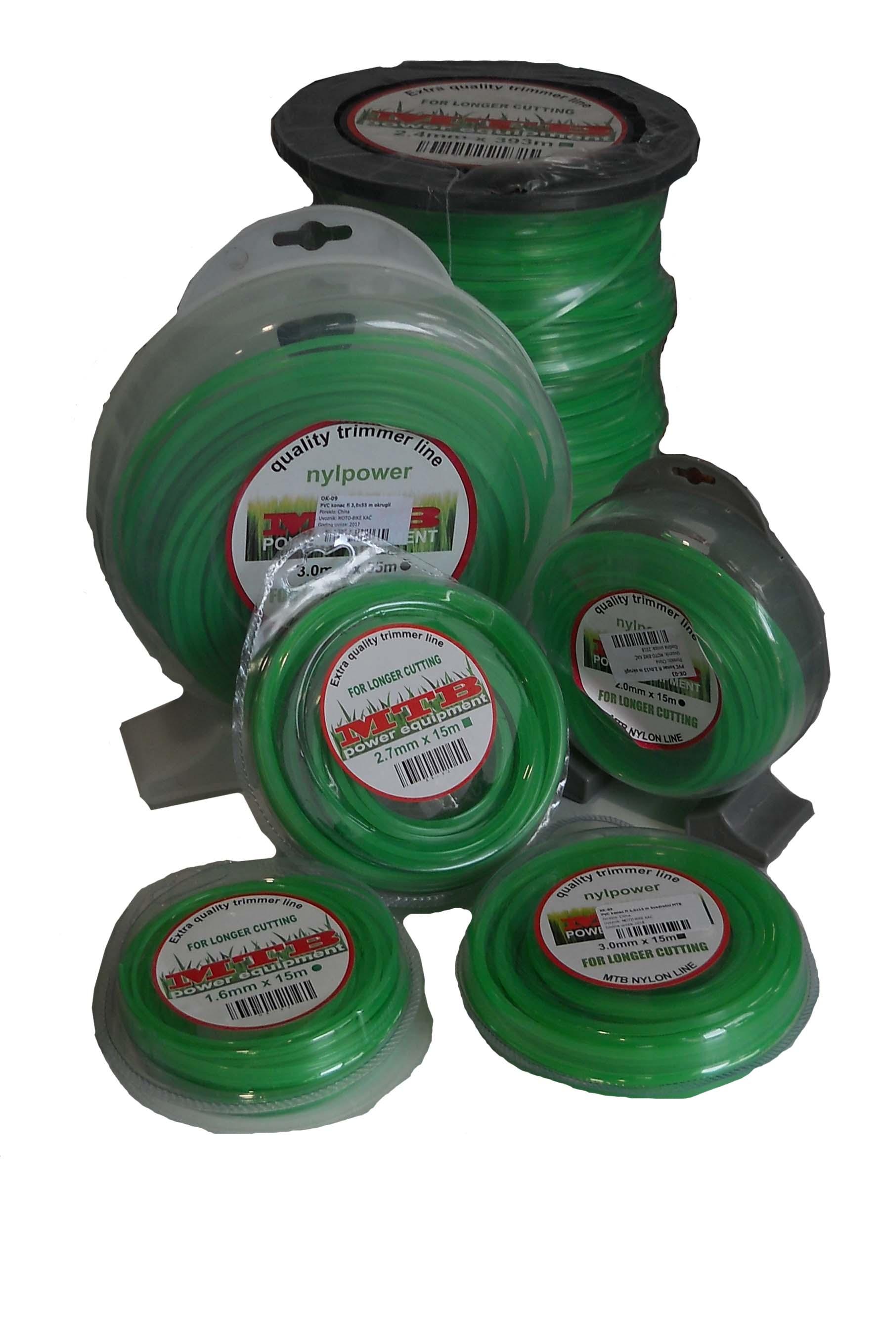 PVC konac 3,0*276m okrugli